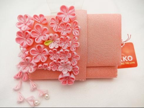 IKKO はこせこピンク花